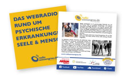 Radio sonnengrau - Infoflyer
