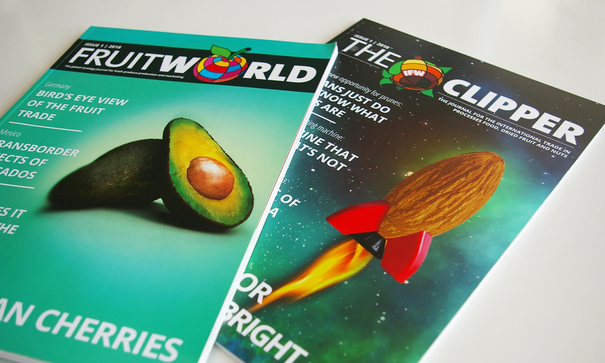 The Fruitworld 1-2018 & The Clipper 1-2018