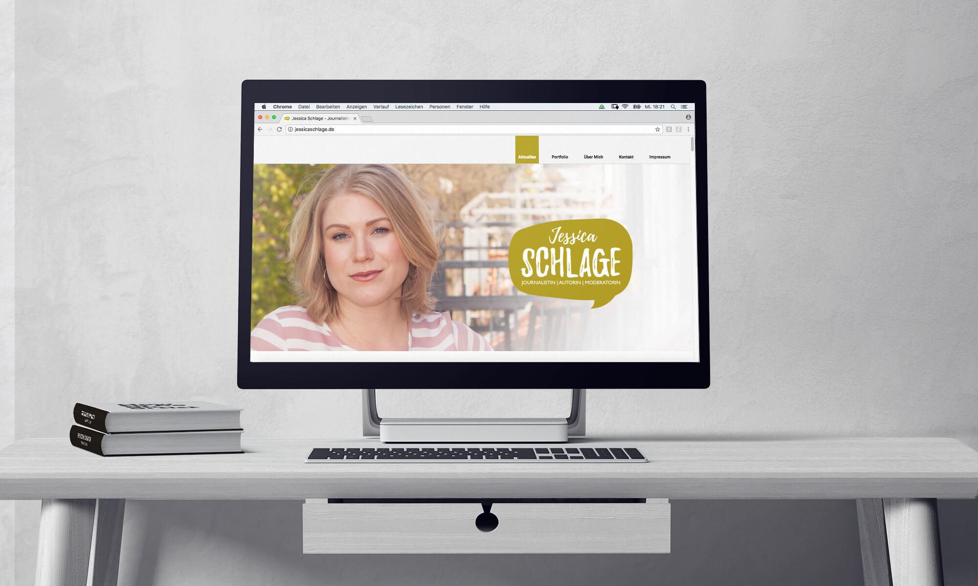 Jessica Schlage - Webseite