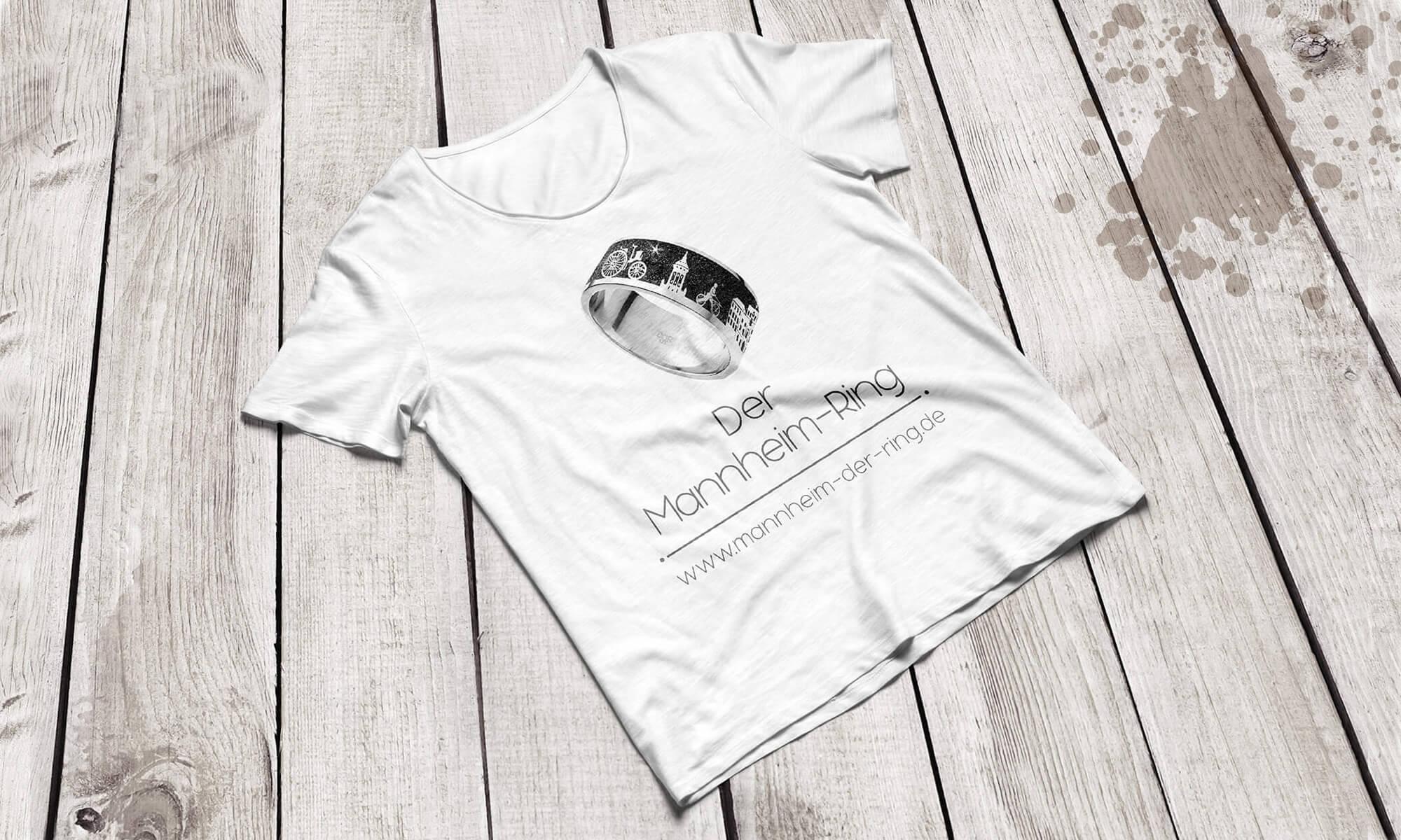 Schmuckstück Mannheim - T-Shirt