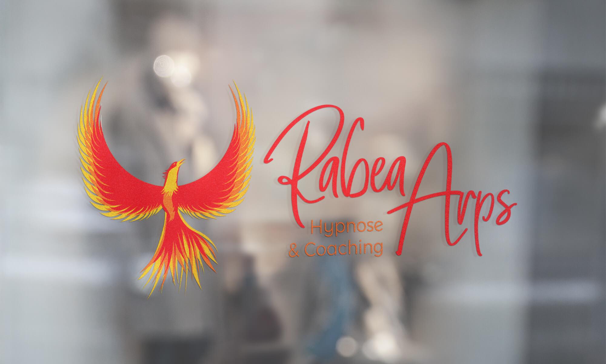 Rabea Arps - Fensterbeschriftung