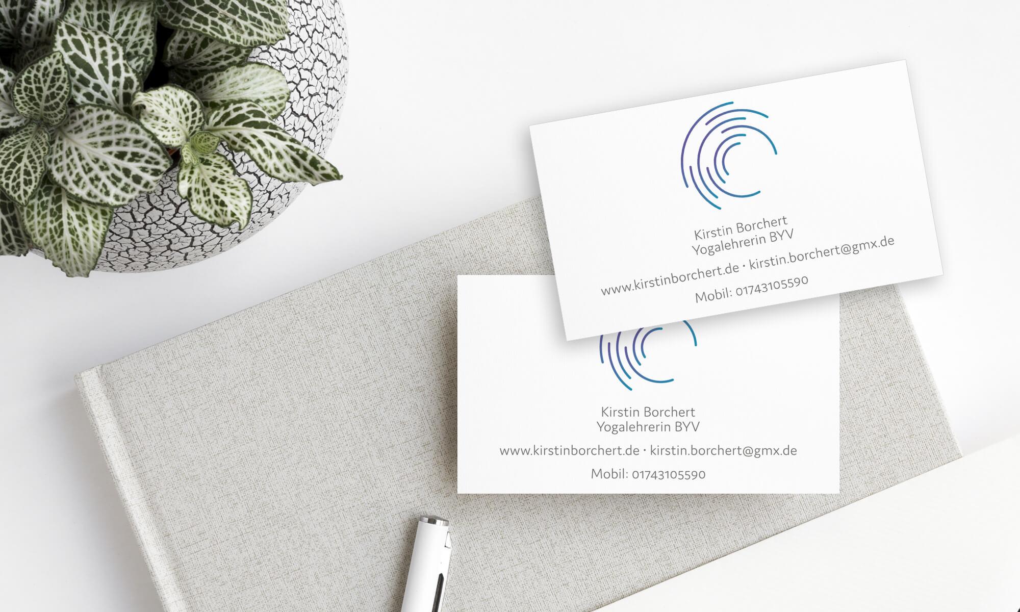 Kirstin Borchert – Visitenkarten