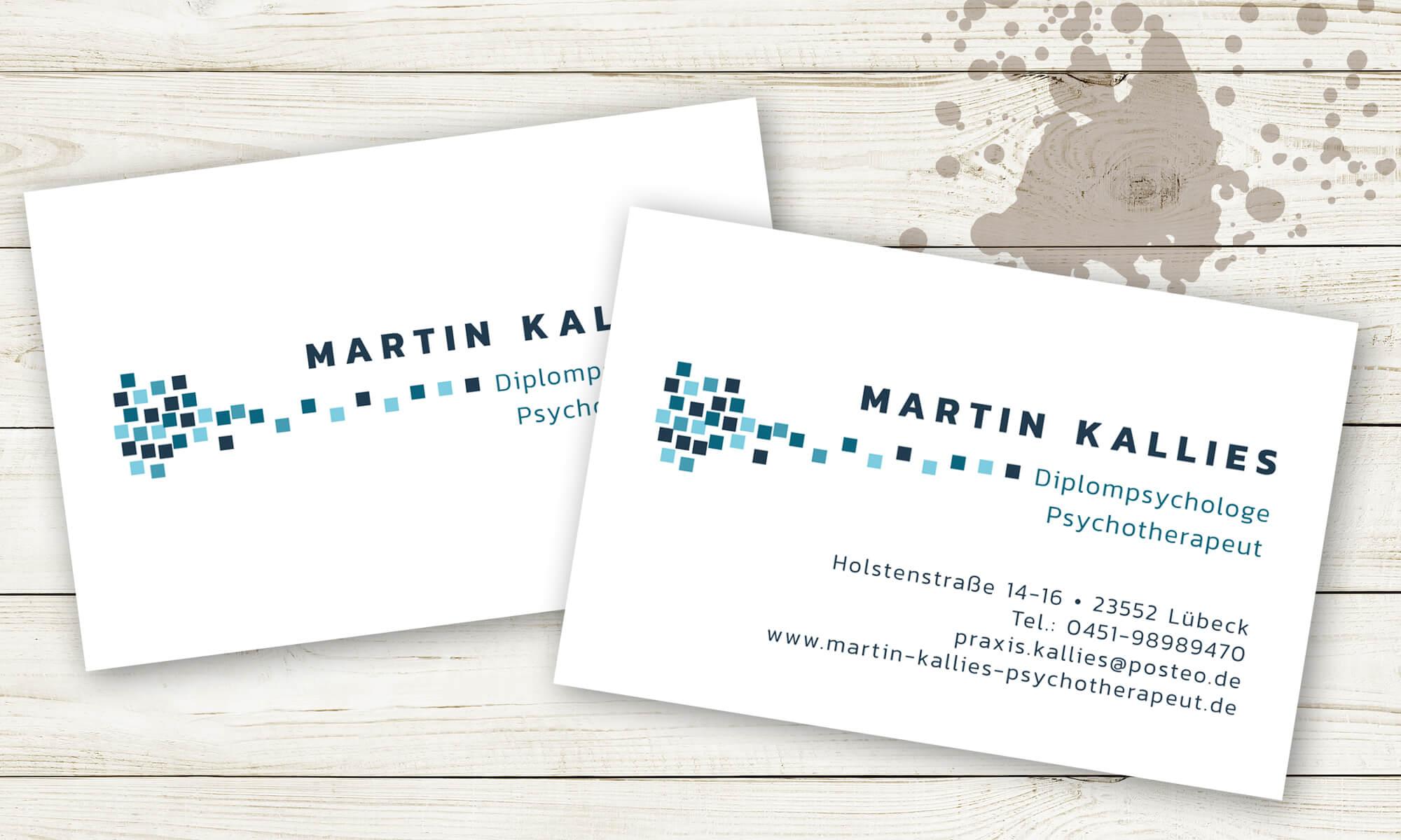 Martin Kallies - Visitenkarten