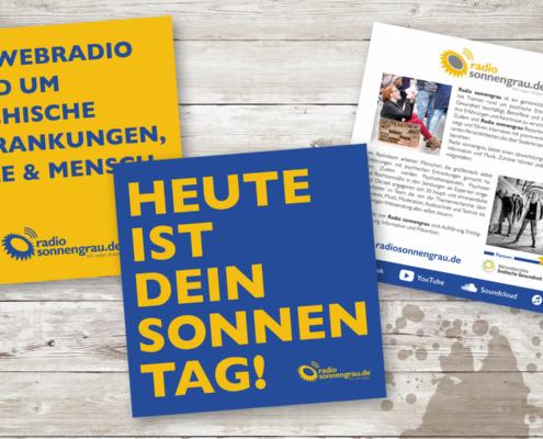 Radio sonnengrau – Informationsflyer