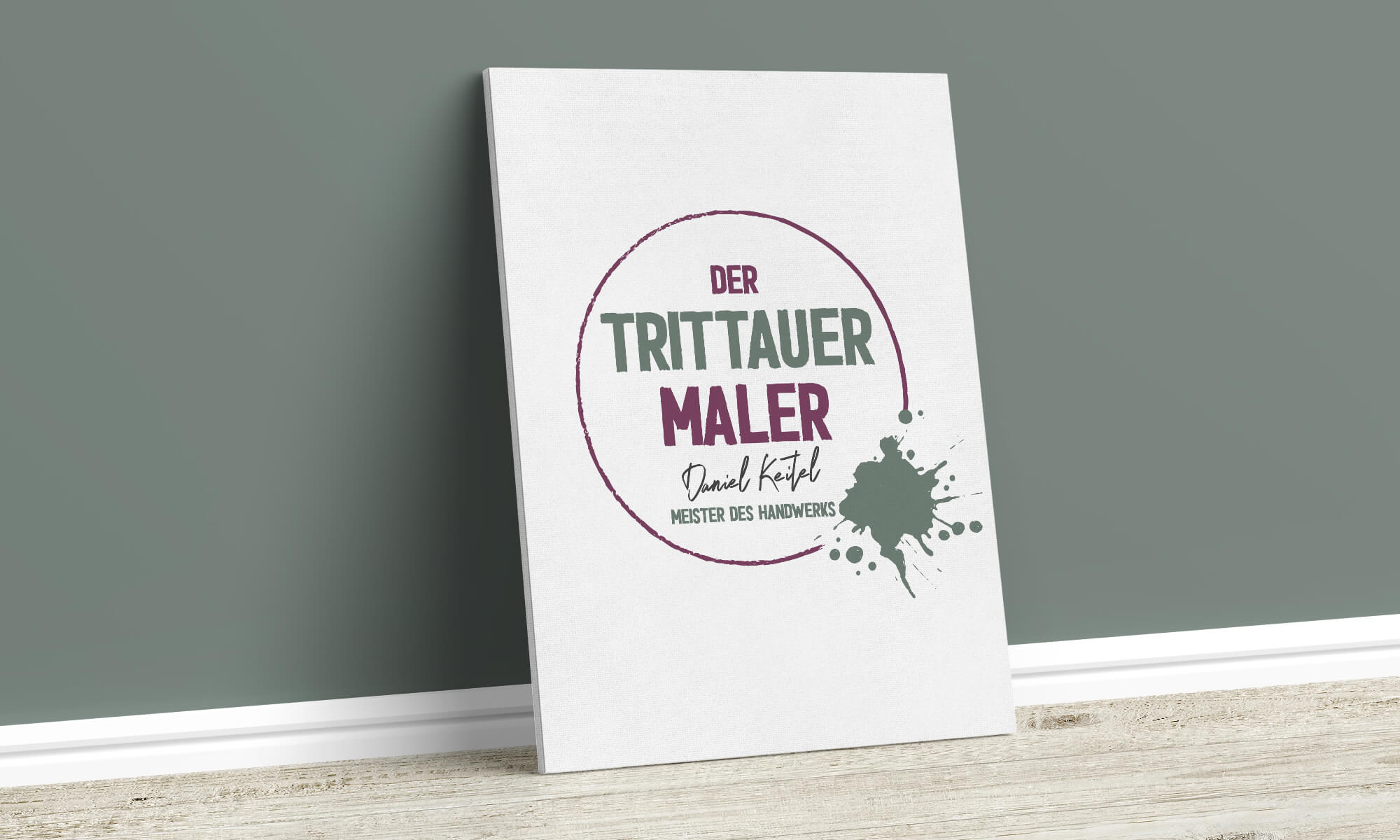 Der Trittauer Maler - Logo