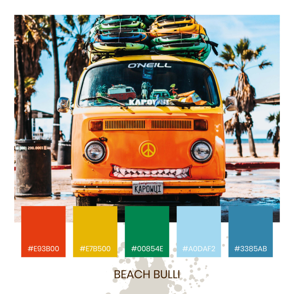 Colour Inspiration - Beach Bulli