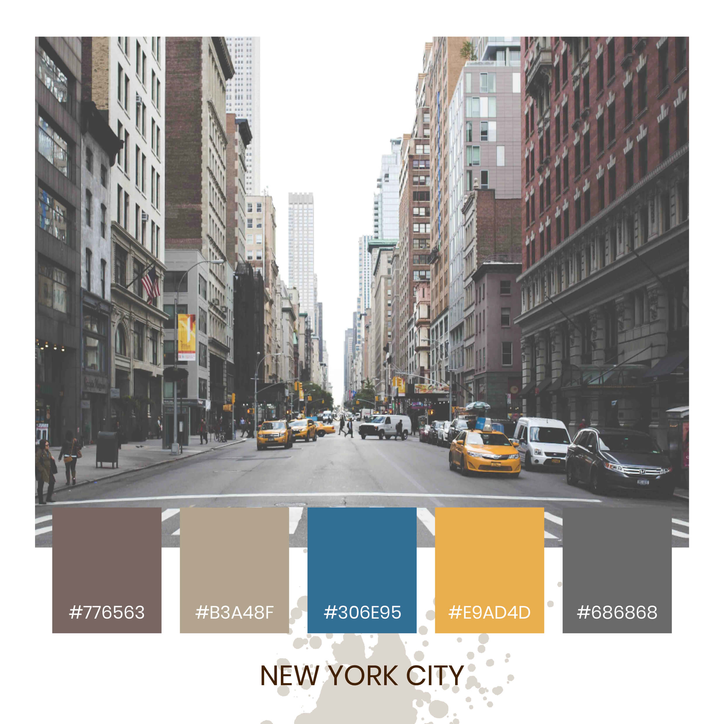 Colour Inspiration - NYC